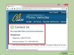 how to contact the dmv 4 steps with
