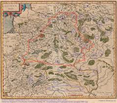 Гражданская война  Гражданская война в ВКЛ Города Свидригайло на карте Меркатора 1595 г