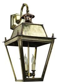 balm large brass 3 light victorian downward outdoor wall lantern universal lighting