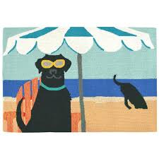 dog area rugs dig in the beach black lab dog indoor outdoor rug dog proof area rugs