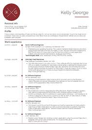 Example Software Engineer Resume Senior Software Engineer Resume Sample Resume Samples Career 14
