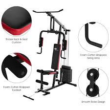 Fitness Equipment Design Goplus Multifunction Home Gym System Weight Training Exercise Workout Equipment Fitness Strength Machine For Total Body Training