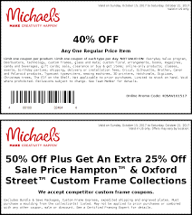 Michaels « Stores « Dewitter Deals