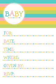 Print Your Own Baby Shower Invitations Theruntime Com