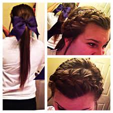 Bows In Hair Style the prefect hair for a cheerleader of pommie perfect for friday 8199 by wearticles.com