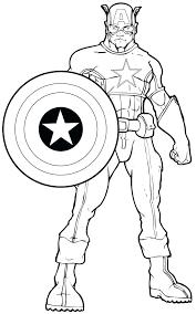Superhero Coloring Pages Printable Free Nip Laceaorg