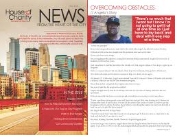 News Letters Newsletters House Of Charity