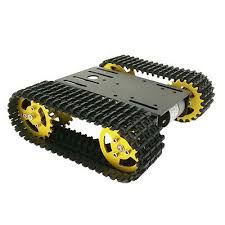 robot tank chassis track arduino tank