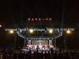 Stage Lighting Truss Aluminum Concert Line Array Speaker Stage Lighting Truss 4 Meter Single Length