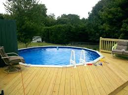 pool deck ideas for above ground pools pool decks for above ground pools beauty and fascinating