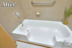 easy step tub to shower conversion archives miracle method surface refinishing blog