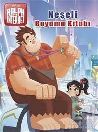 Neşeli Boyama Kitabı - Disney Ralph ve İnternet