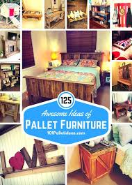 Furniture ideas with pallets Diy Pallet Furniture Ideas 101 Pallet Ideas 125 Awesome Diy Pallet Furniture Ideas