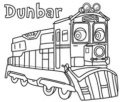 Small Picture Dunbar Chuggington Coloring Pages Cartoon Coloring pages of