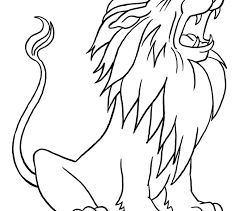 Small Picture Download Coloring Pages Lion Color Page Fresh On Model Animal