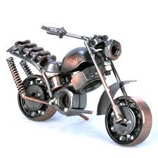 vantage handmade iron motorcycle model metal art motor ornaments