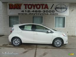 2013 Toyota Prius c Hybrid Two in Super White - 531904   leHybrid ...