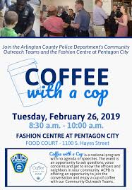 Coffee With A Cop Flyer Public Invited To First Coffee With A Cop Event In 2019