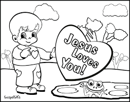 Bible Coloring Pages For Preschoolers At Getdrawingscom Free For
