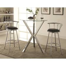 cafe table set awesome pub tables bistro sets you ll love wayfair throughout 19