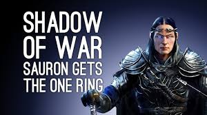 Let\u0027s Play Shadow of War: SAURON GETS THE ONE RING - Episode 2 ...