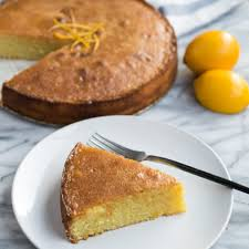 Meyer Lemon and Almond Cake Recipe by Cooks and Kid