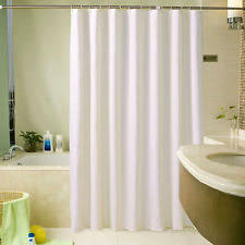 retro shower curtain. 1.8*2.2m Extra Wide Long White Shower Fabric Curtain Bathroom With Hooks Retro