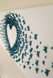 diy erfly wall art