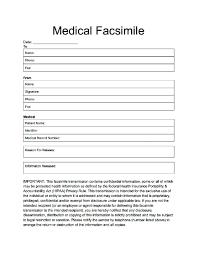 Printable Medical Fax Cover Sheet Juzdeco Zasvobodu