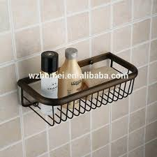 wire basket wall shelf antique wall mounted metal brass bathroom wire wire basket wall shelves with