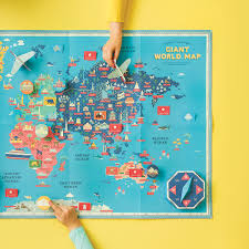 How To Design Your Own Map Create Your Own Giant World Map