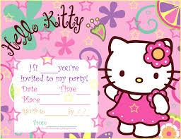 Printable Hello Kitty Invitations Personalized Hello Kitty Birthday Invitations Ideas Free Printable