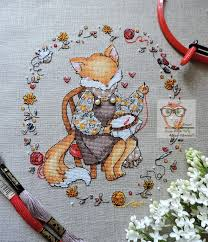 Funny Cross Stitch Patterns Free Classy Free Cross Stitch Fox Pattern Funny Embroidery Design