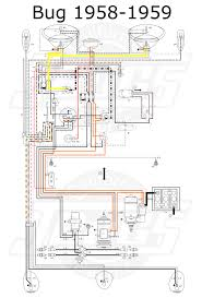 vw tech article 1958 59 wiring diagram vw bug ignition switch wiring at Vw Coil Wiring Diagram