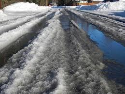 Image result for snow slush images