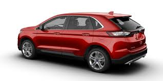 2017 Ford Edge Color Chart What Colors Does The New 2018 Ford Edge Come In