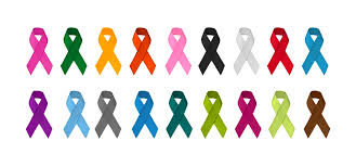 Awareness <b>Ribbons</b> Guide <b>Colors</b> and Meanings