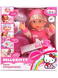 <b>Пупс Hello Kitty Карапуз</b> 5258847 в интернет-магазине Wildberries