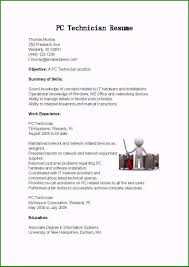 Unforgettable Computer Technician Resume You Need To Consider