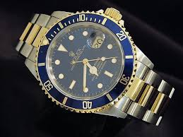 rolex submariner mens two tone for 40mm beckertime beckertime mens rolex 16613