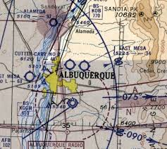New Mexico Sectional Chart Abandoned Little Known Airfields New Mexico Albuquerque Area