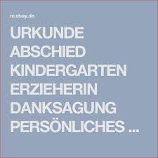 Details Zu Urkunde Abschied Kindergarten Erzieherin Von Design Ideen