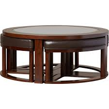 glass coffee table with chairs underneath. coffee table with chairs underneath stools glass