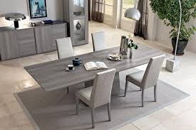 extending dining table sets. Modern Fixed Or Extending Dining Table In Grey Saw-marked Oak Effect Finish Sets
