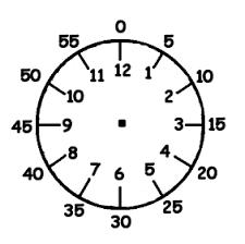 Large Printable Educational Templates For Kids Printable Clock