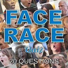 20 question face race picture quiz