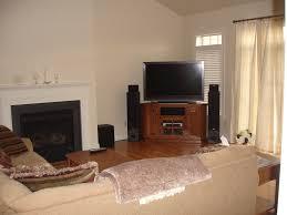 Living Room Fantastic Corner Tv Design Pictures