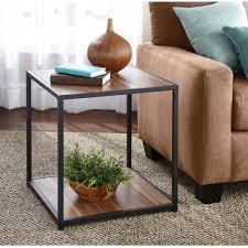 Living Room Sets Walmart Mainstays Metro Side Table Multiple Finishes Walmartcom