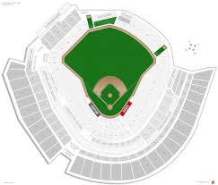great american ball park seating chart with row numbers