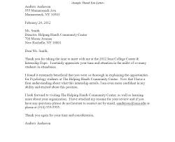 Awesome Collection Of Resume Review Thank You Letter College